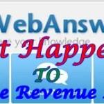 Webanswers Google Adsense Revenue No Longer