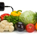 Charge a Phone With Vegetables - Apple, Onions, Orange, Soda