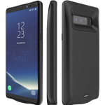 Galaxy Note 8 Battery Case,EUROB 5500mAh Slim Type C Charger Portable Extended Battery Note 8 Charging Case (Black)