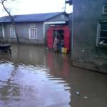 Kampala City Suburb Nalukologo Flooded After Rainfall