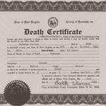 NIRA Uganda Death Certificate