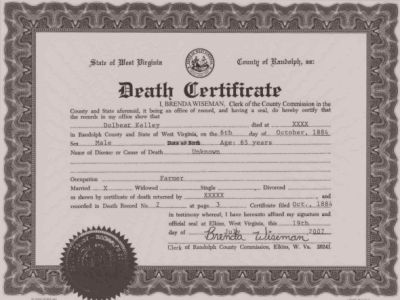 How To Process & Get A Short/Long NIRA Death Certificate ...