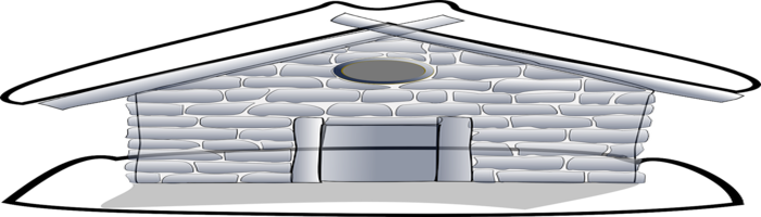 Long lasting house without cement