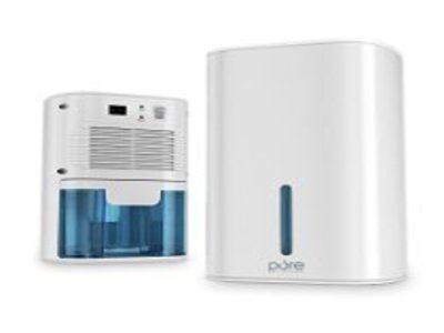 Premium Dehumidifier Designed to Eliminate Excess Moisture from Closets, Bathrooms, Boats, Kitchens and Other Small Rooms & Spaces