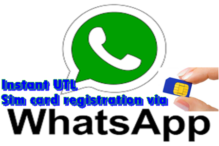 Uganda Telecom SIM Card Registration Using Whastapp