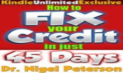 Fix credit score in 45 days