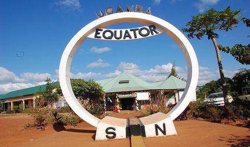 Uganda equator monument