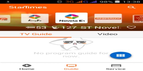 Startimes app guide