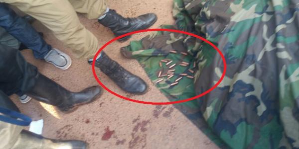 The Many Abullets at Major Kigundu's death scene