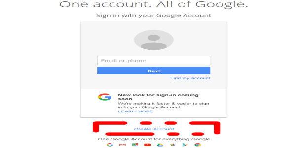 Create_account_on_Google