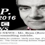 Mr Bean fake death news