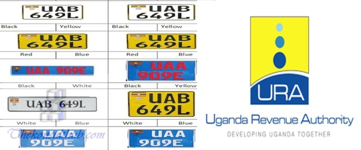 URA Uganda New Plates Changes