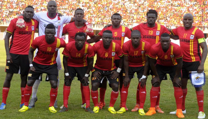 Uganda Cranes Team