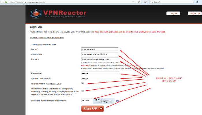 Fill_in_required_VPNReactor_signup_fields