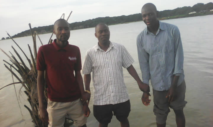 At Kalangala Island