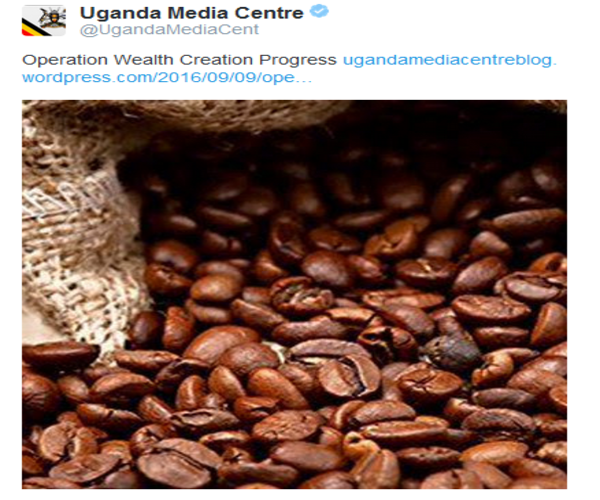 @UgandaMediaCent about Operation Wealth Creation