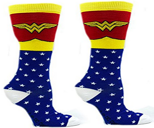 Wonder Woman Superhero Socks