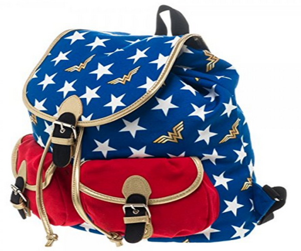 DC Comics Wonder Woman Stars Knapsack