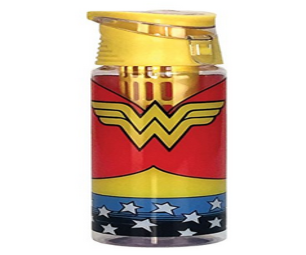 Spoontiques Wonder Woman Logo Infuser Water Bottle, , Multi