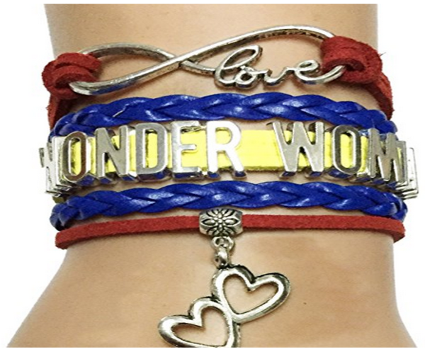 DOLON Wonder Woman Bracelet-Gift for Wife,Mom,Grandma