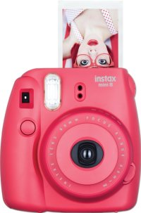 Fujifilm Instax Mini 8 Instant Film Camera (Raspberry) Full Features and Pricing