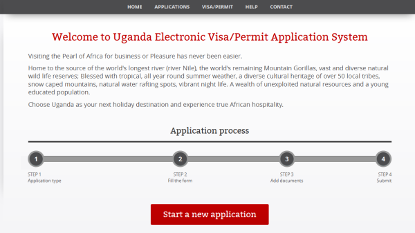 Uganda_Electronic_VISA_Application_Website