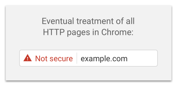 Google chrome new security checks