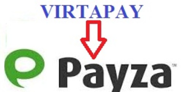 Virtapay to Payza free