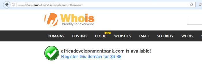 Africandevelopnmentbank.com