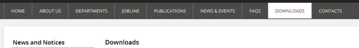 Uganda PSC download section