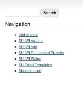 ADD SU API Drupal Module