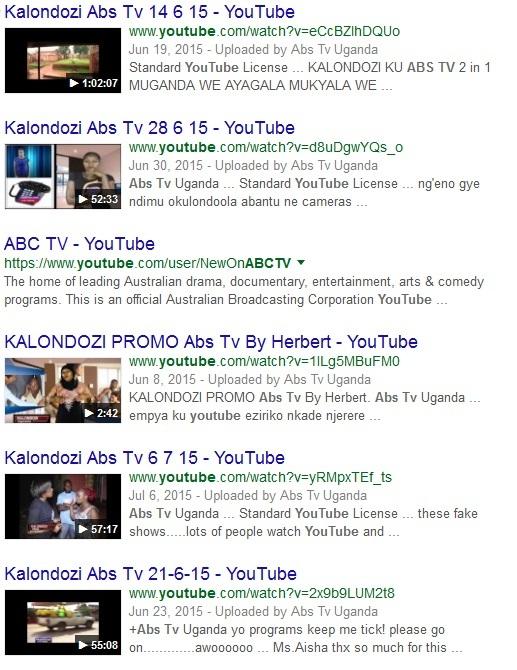 ABS TV Uganda Kalondozi Show YouTube