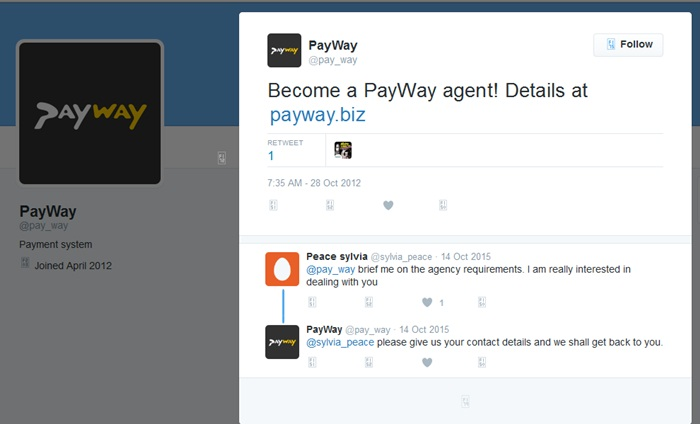 Payway agent website