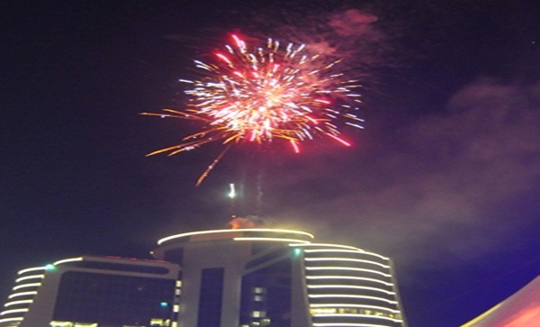 Biggest Fireworks Ever In Kampala 2016
