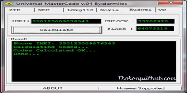 universal unlocking codes generator software free
