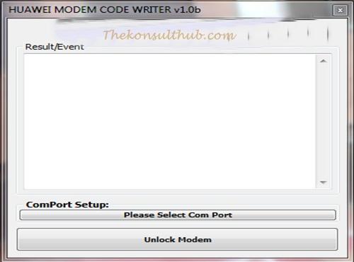 Huawei Modem Code Writer