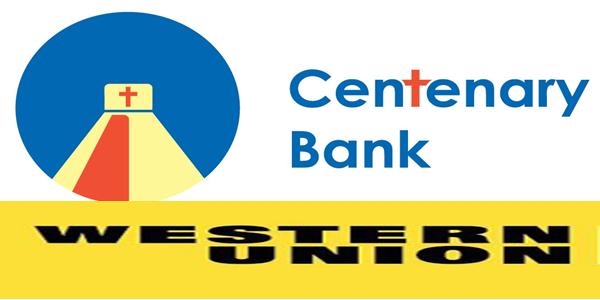 Western Union Centenary Bank Uganda