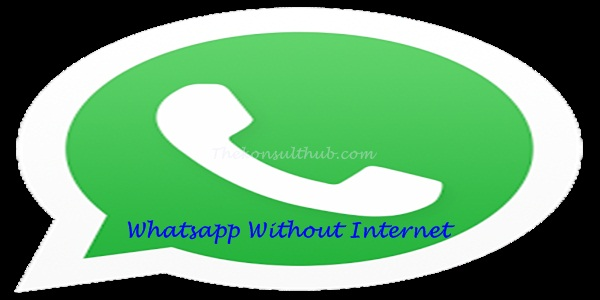 Free Whatsapp Without Internet Connection