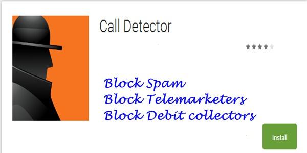 CallDetector Smartphone App
