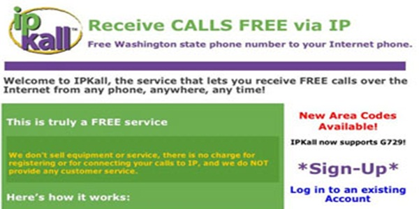 IPKall Free VOIP Number