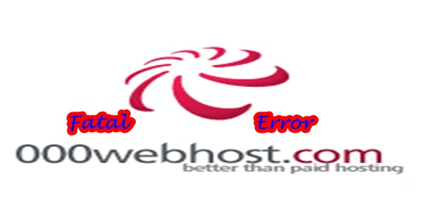 000Webhost Fatal Error Exhausted Memory