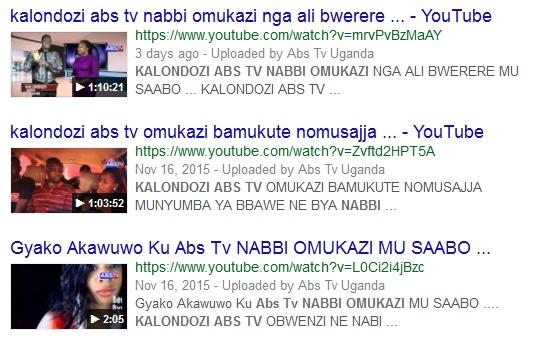 Nabbi Omukazi On Kalondozi AB TV Show With Aisha