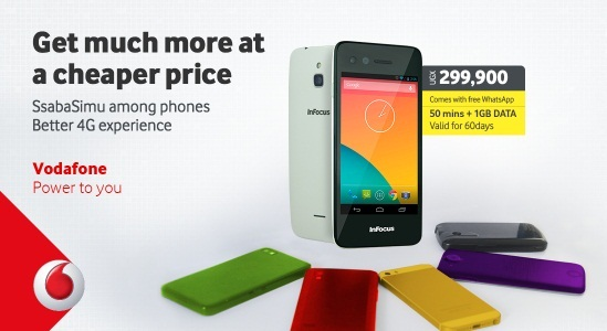 SsabaSimu Vodafone 4G LTE Smartphone Review Features and Specifications