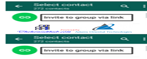 Create Whatsapp Group Members Invite Link