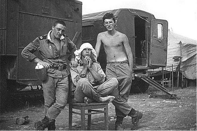 Андрей Норкин в армии