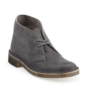Clarks Desert Boots Grey Suede