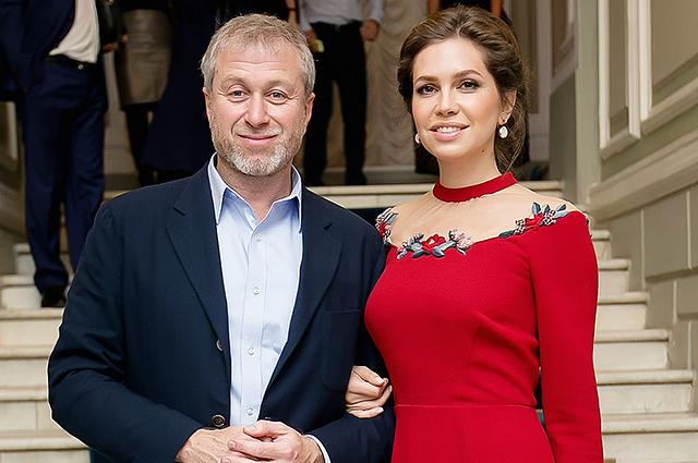 Абрамович и его жена даша жукова