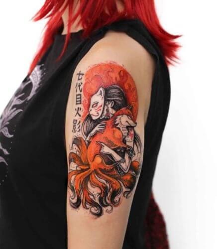 Значение татуировки кицунэ