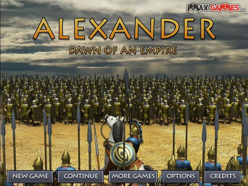 Александр македонский играть