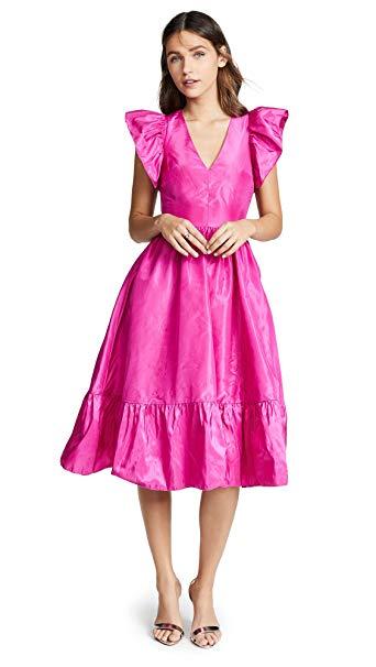 Fuschia pink dresses for women